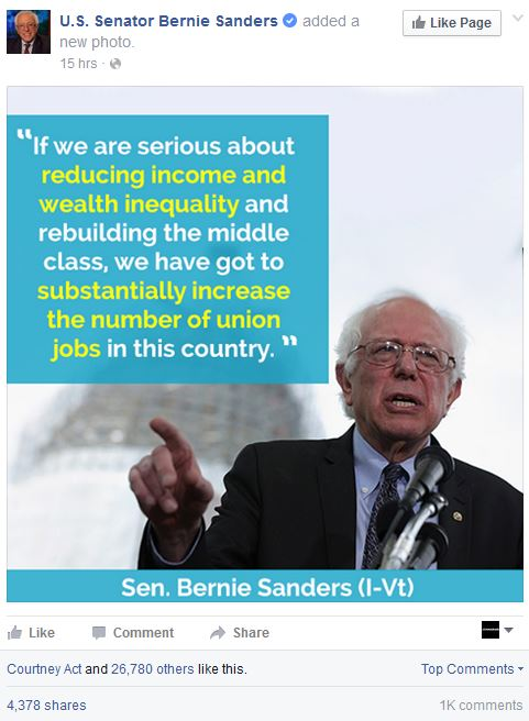 bernie-facebook-post