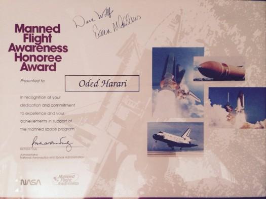 oded-harari-manned-flight-awareness-award-1992